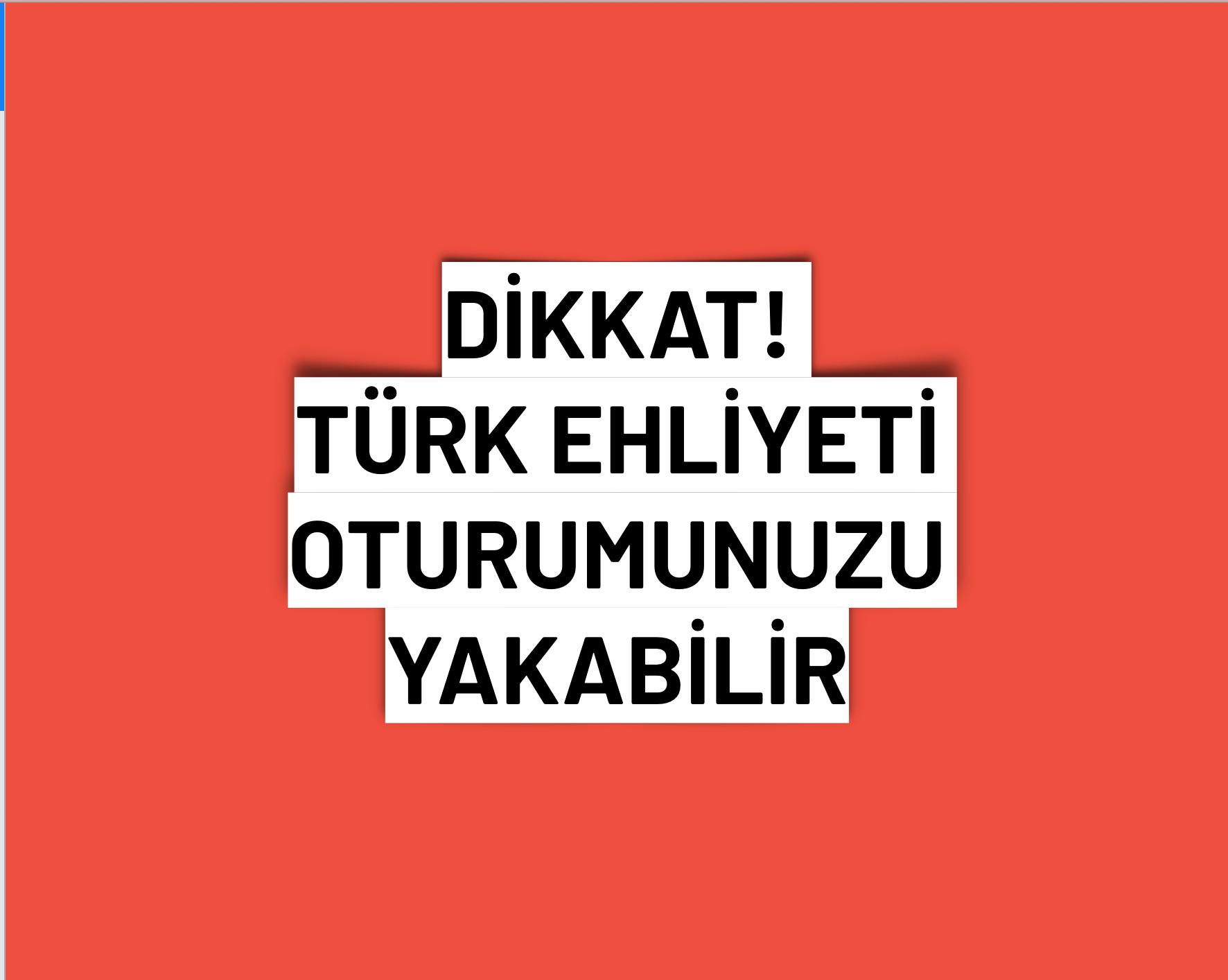 İsveç'te Türk ehliyeti